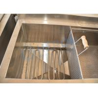 High Efficience Oil Saving Potato Chips Frying Machine / Electric Oil Water Mixed Fryer Machine Manufactures