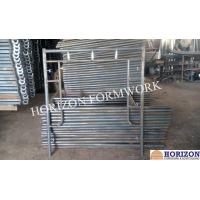 Stable Frame Scaffolding System , Q235 Steel Scaffolding Frame Type 1524x1700mm Manufactures