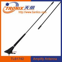 car electronic antenna with cable length 5.2m/ black color car amplifier antenna/ car am fm antenna TLB1742 Manufactures