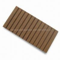 Buy cheap WPC Fence in Brick, Chocolate, Brown, Dark Brown, Gray and Coffee, Measures 71 x from wholesalers