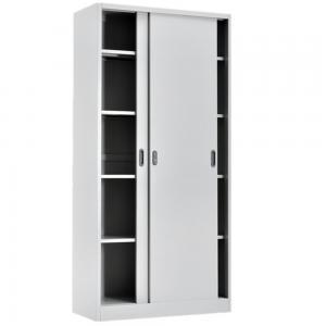 Cold Rolling Steel RAL 400mm Sliding Door Filing Cabinet Manufactures