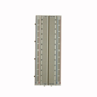 Brown ABS Transparent Breadboard Self - Adhesive Electronics Test Board Manufactures