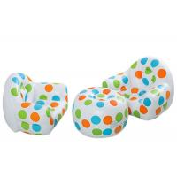 Buy cheap Waterproof Inflatable Sofa Chair Table With Dot Pattern For Home / Backyard / from wholesalers