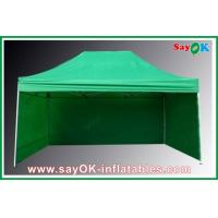 Professional Folding Tent 210D Oxford Cloth With 3 Sidewalls Fire-proof Manufactures