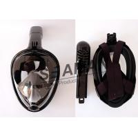 China Full Face dry Snorkel Mask / Water Sports Equipment for Adults and Youth on sale
