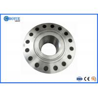 """1/2"""" - 24"""" NB Long Steel Pipe Flange Slip On RF FF RTJ Type Smooth Surface Manufactures"""