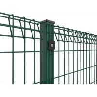 Cheap Roll Top and Bottom Fence , PVC / Powder Coated Roll Top Welded Wire Fence for sale