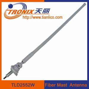 Marine car antenna/ 1 section flexible rubber mast car antenna/ fiber mast marine car antenna Manufactures