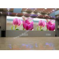 Cheap SMD3528 P8 Indoor Full Color LED Display With 640x640mm Iron Cabinet Meanwell Power for sale