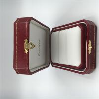 Fine Fabric Jewellery Presentation Boxes , Customized Square Jewelry Gift Boxes