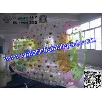 Giant Inflatable Roller Ball , 1.0mm PVC Inflatable Zorb Ball For Beach Sport Manufactures
