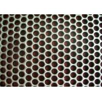 China 0.8 Mm Diameter Perforated Metal Mesh Round Hole Punched Mesh Aluminum Plate on sale
