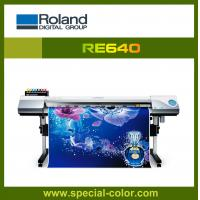 Quality 1.6m eco solvent printer.roland RE640 with Epson dx7 print head,original from Japan for sale