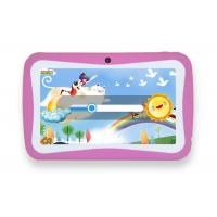 China Pink  Android  Allwinner 23 kids educational tablets Custoimzed UI Support MP3 WMA OGG on sale
