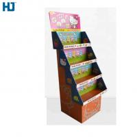 4 Tiers Foldable Cardboard Display Hard Material For Toys Doll Supermarket Retail Manufactures
