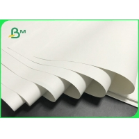 Good Water Repellency 100um 200um White Rich Mineral Paper For Notebook Manufactures