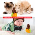Christmas gift tumbler cat toy funny tumbler pet cat dog toy sunds Light Manufactures