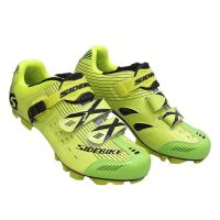 Microfiber Upper Mens MTB Cycling Shoes High Reliability With CE / ISO Certification Manufactures
