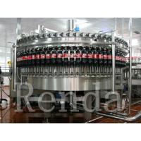 Carbonated Drink Filling Plant PET Bottle Filling Machine With CO2 Mixing System Manufactures