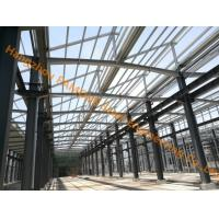 China Industrial shed design steel structure warehouse prefabricated building in factory on sale