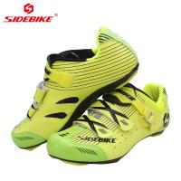Smart Outdoor Bike Riding Shoes With Carbon Soles Or Nylon TPU Soles Road And MTB Manufactures