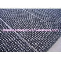 Carbon Steel High Tensile Crimped Wire Mesh With Square Aperture And Round Wire In Sheet Manufactures