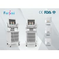 HIFU wrinkle removal and skin tightening machine with 300W input power in best price Manufactures