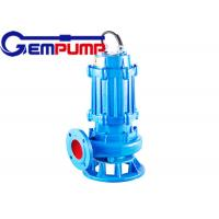 QW type non-clogging submersible sewage pump For Factories and mines wastewater Manufactures