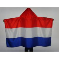 All Countries England Flag Cape / Cloth Shape National Soccer Fan Cape Manufactures