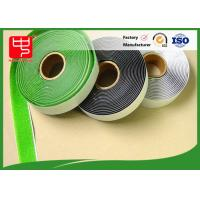 Colour Nylon roll Hook And Loop Adhesive Tape For Household / Plastic PVC