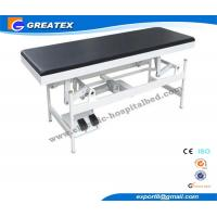 Flat Electric Examination Couches , Medical Exam Beds With PU cushion Manufactures