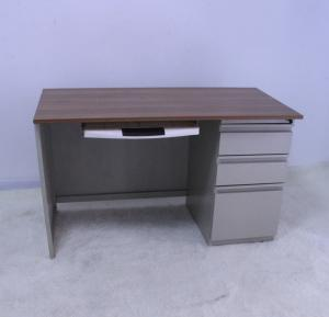 Electrostatic Spraying 750mm Steel Study Table With Drawers Manufactures