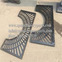 China OEM New Design Strong & Durable 1270mm Diameter Round Shape Cast Iron Tree Grate in two halves on sale