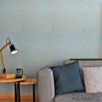 Buy cheap Yellow Linen Pattern Modern Removable Wallpaper / Washable Non Woven Wallcovering from wholesalers