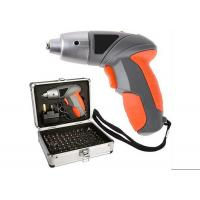Powerful 102 Piece Cordless Screwdriver Set with Alu Case / 4.8v Screwdriver Bits / Battery Indicator Manufactures