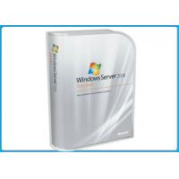 100% genuine Microsoft Windows Softwares , Win Server 2008 Standard Retail Pack 5 Clients Manufactures