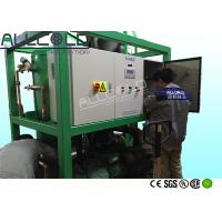 Energy Saving Professional Tube Ice Machine , Tube Ice Plant For Concrete Cooling