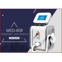 MED - 808 peak power 2000w net weight 43kgs portable diode laser hair removal painfree machine