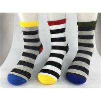Buy cheap Odor Resistent Red Recycled Cotton Socks With Breathable Absorbent Material from wholesalers