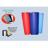 Red Blue Compound Polystyrene And Polyethylene Sheet Roll For Industrial Manufactures