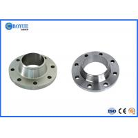 Durable 304 316  Weld Neck Pipe Flanges DIN ASME High Performance Manufactures
