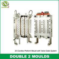 32 cavities preform mould with valve gate system
