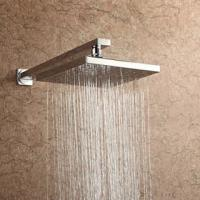 Single Handle 2 Hole Brass Wall Mounted Shower Mixer Taps For Bathroom