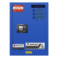 Quality ZOYET Safety Acid Corrosive Storage Cabinets With Touch Screen For Chemical Liquid12 gallon 45litre for sale