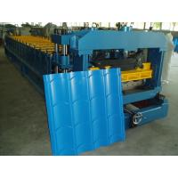 Cr12 Mould Steel Metal Roof Roll Forming Machine 1000mm Width