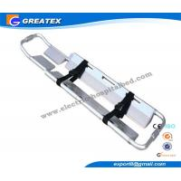 Quality X - Ray Translucent Plastic Folding Scoop Stretcher for ambulance carrying patients for sale