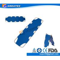 Oxford Cloth Aluminum Alloy Two Folding Emergency Rescue Medical Stretcher (GT-FS05) Manufactures