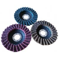 Quality 100*16 115*22 125*22 150*22 180*22 MM zirconia flap disc with T27/T29 fiberglass for sale