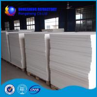 White Heat Resistence high temperature insulation board , ceramic fibre board Manufactures