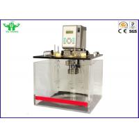 China Manual Kinematic Viscosity Tester @ 40C And 100C With One Year Warranty on sale